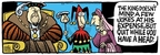 Comic Strip Mike Peters  Mother Goose and Grimm 2008-09-29 threat