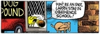 Comic Strip Mike Peters  Mother Goose and Grimm 2009-01-22 stray dog