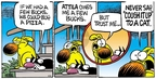 Comic Strip Mike Peters  Mother Goose and Grimm 2009-04-26 cough