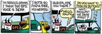 Comic Strip Mike Peters  Mother Goose and Grimm 2009-05-12 push my buttons