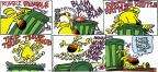 Comic Strip Mike Peters  Mother Goose and Grimm 2012-02-05 trash can