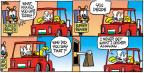Comic Strip Mike Peters  Mother Goose and Grimm 2013-10-20 drive-thru
