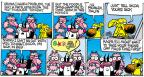 Comic Strip Mike Peters  Mother Goose and Grimm 2014-02-23 cannot tell a lie