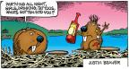 Comic Strip Mike Peters  Mother Goose and Grimm 2014-04-06 Justin