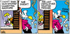 Comic Strip Mike Peters  Mother Goose and Grimm 2014-08-24 cough