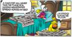 Comic Strip Mike Peters  Mother Goose and Grimm 2018-02-25 newspaper