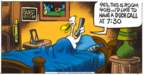 Comic Strip Mike Peters  Mother Goose and Grimm 2019-06-09 wake
