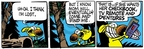 Comic Strip Mike Peters  Mother Goose and Grimm 2006-03-16 lost remote control