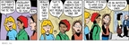 Comic Strip Greg Evans  Luann 2009-01-09 high school teacher