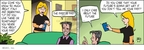 Comic Strip Greg Evans  Luann 2009-03-11 threat