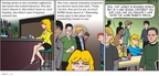 Comic Strip Greg Evans  Luann 2009-11-08 school cafeteria