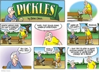 Comic Strip Brian Crane  Pickles 2009-03-29 horse