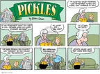 Comic Strip Brian Crane  Pickles 2007-09-09 learn to talk