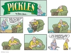 Comic Strip Brian Crane  Pickles 2007-09-23 traditional marriage