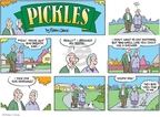 Comic Strip Brian Crane  Pickles 2007-11-18 dog teeth