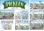 Comic Strip Brian Crane  Pickles 2008-08-24 Larry