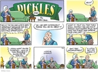 Comic Strip Brian Crane  Pickles 2008-11-30 illegal
