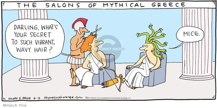 Comic strips about greece