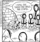 Comic Strip Dave Coverly  Speed Bump 2003-06-23 practice