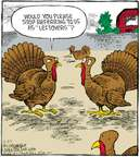 Comic Strip Dave Coverly  Speed Bump 2008-11-27 Thanksgiving