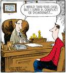 Comic Strip Dave Coverly  Speed Bump 2009-01-22 conflict of interest