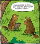Comic Strip Dave Coverly  Speed Bump 2009-03-10 forest animal