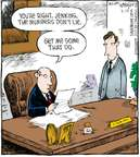 Comic Strip Dave Coverly  Speed Bump 2009-03-16 management