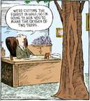 Comic Strip Dave Coverly  Speed Bump 2009-05-06 downsize