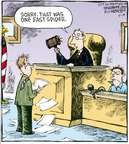 Comic Strip Dave Coverly  Speed Bump 2009-05-18 gavel