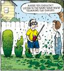 Comic Strip Dave Coverly  Speed Bump 2009-08-08 gardening