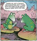Comic Strip Dave Coverly  Speed Bump 2009-10-21 pond