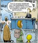 Comic Strip Dave Coverly  Speed Bump 2009-10-24 airplane travel