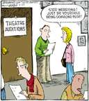 Comic Strip Dave Coverly  Speed Bump 2010-02-25 theater