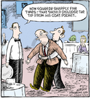 Comic Strip Dave Coverly  Speed Bump 2010-03-22 gratuity