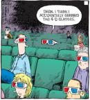 Comic Strip Dave Coverly  Speed Bump 2010-07-03 3-D glasses