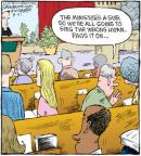 Comic Strip Dave Coverly  Speed Bump 2010-08-21 worship