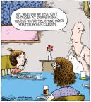 Comic Strip Dave Coverly  Speed Bump 2010-09-24 fundraising