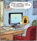 Comic Strip Dave Coverly  Speed Bump 2010-11-06 hard drive