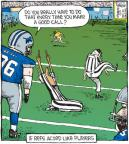 Comic Strip Dave Coverly  Speed Bump 2010-11-22 football