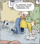 Comic Strip Dave Coverly  Speed Bump 2011-02-22 rug