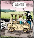 Comic Strip Dave Coverly  Speed Bump 2011-06-02 wooden