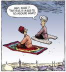 Comic Strip Dave Coverly  Speed Bump 2011-06-22 rug