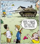 Comic Strip Dave Coverly  Speed Bump 2011-08-23 gun