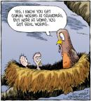 Comic Strip Dave Coverly  Speed Bump 2011-09-16 grandmother