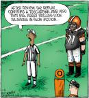 Comic Strip Dave Coverly  Speed Bump 2011-11-21 football replay