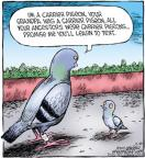 Comic Strip Dave Coverly  Speed Bump 2011-11-29 generation