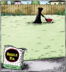 Comic Strip Dave Coverly  Speed Bump 2011-12-03 lawn care