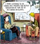 Comic Strip Dave Coverly  Speed Bump 2012-01-11 finger