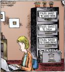 Comic Strip Dave Coverly  Speed Bump 2012-03-17 hard drive
