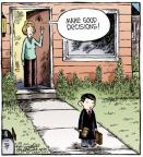 Comic Strip Dave Coverly  Speed Bump 2012-03-29 gavel